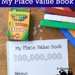 FREE My Place Value East Reader Book
