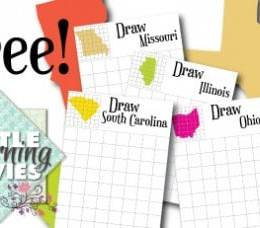 FREE How to Draw the States eBook (50+ Pages!)