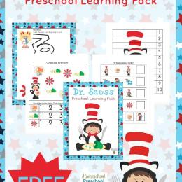 FREE Dr. Seuss Preschool Pack