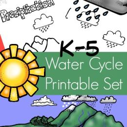 FREE Water Cycle Printables