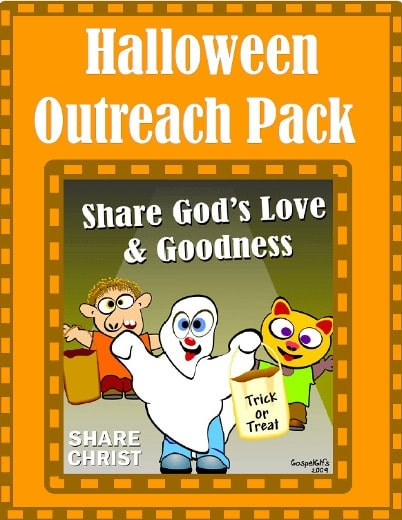 Free Halloween Christian Outreach Pack