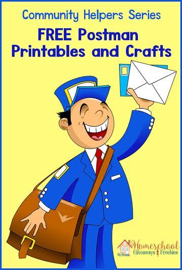 Free Postman Printables Amp Crafts