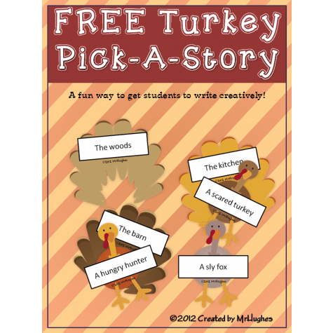 Free Turkey Creative Writing Activity