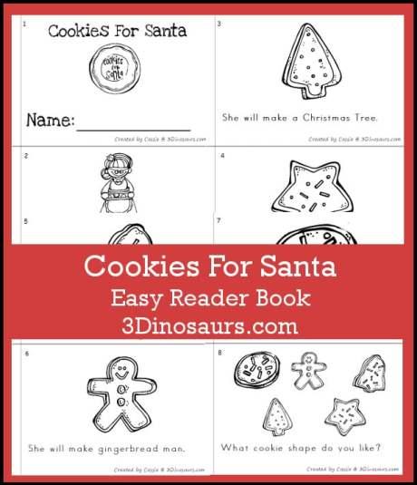 Free Cookies for Santa Reader