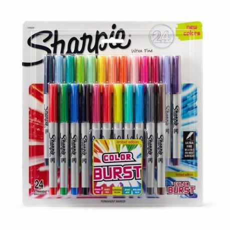 Sharpie Color Burst 24 Count Permanent Markers Only $10.99 - Today Only!
