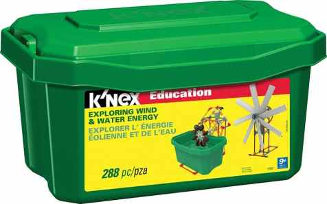 K'NEX Education Wind and Water Energy Set Only $44.50! (Reg. $70!)