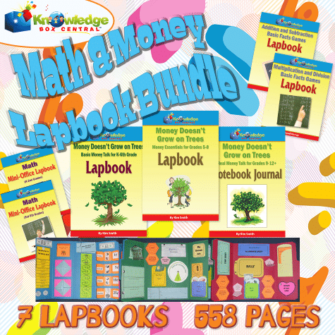 Math & Money Lapbook Bundle Only $7.64! (Reg. $35!)