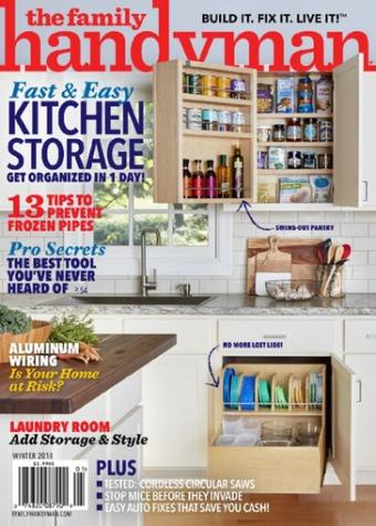 Family Handyman Magazine Only $8.99/Year! (77% Off!)