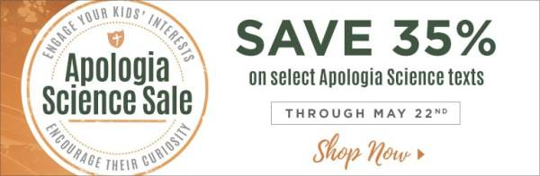 35% Off Apologia Science Curriculum