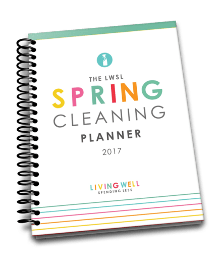 Free 2017 Spring Cleaning Calendar