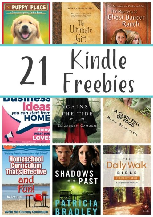 21 Free Kindle Books: The Ultimate Gift, Buckshot Pie, & More!