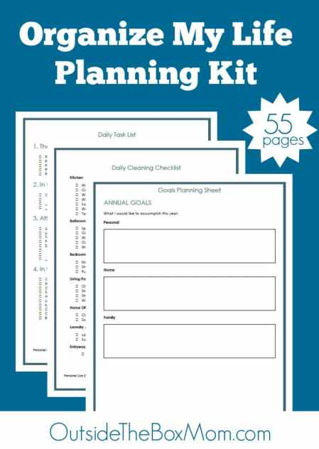 Free Organize My Life Planning Printables (55 Pages!)