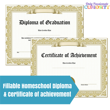 Free High School Diploma & Certificate of Achievement | Free ...