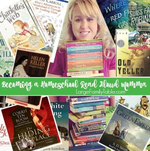 Becoming a Homeschool Read Aloud Momma + Read Aloud Q&A