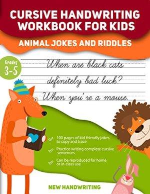 Cursive Handwriting Book for Kids