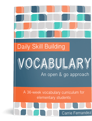 Daily Skills Building: Vocabulary Curriculum - Up to 50% Off!