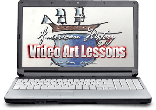 American History Video Art Lessons Only $46.50! (Reg. $62!)