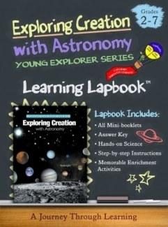 Apologia Exploring Creation with Astronomy Lapbook