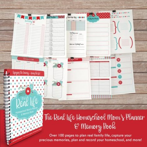 Real Life Homeschool Mom's Planner & Memory Book Only $12.49! (50% Off!)