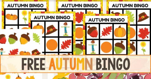 Free Fall Bingo Game