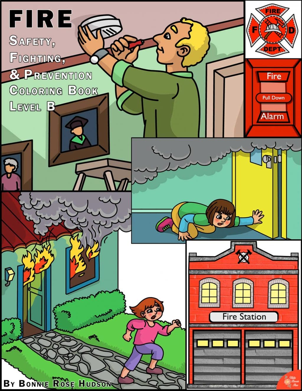 Free Fire Safety Amp Prevention Coloring Book