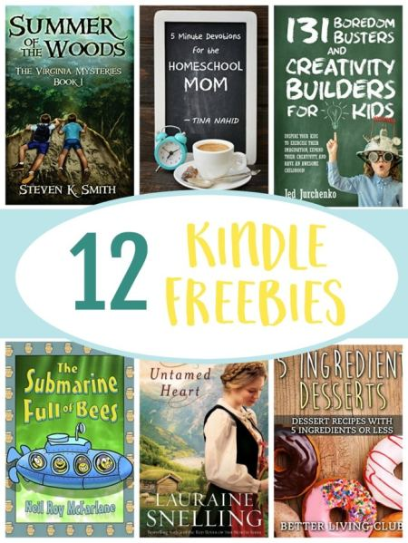 12 Kindle Freebies: The Mysterious Garden, 5 Ingredient Desserts, & More!