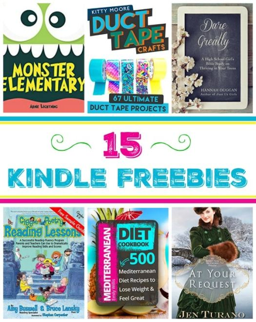 15 Free Kindle Books: Duct Tape Crafts, Dare Greatly, & More!