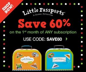 60% Off Little Passports Subscription!