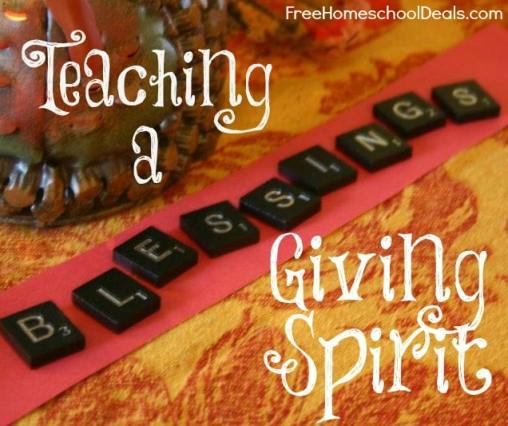 Teaching a Giving Spirit