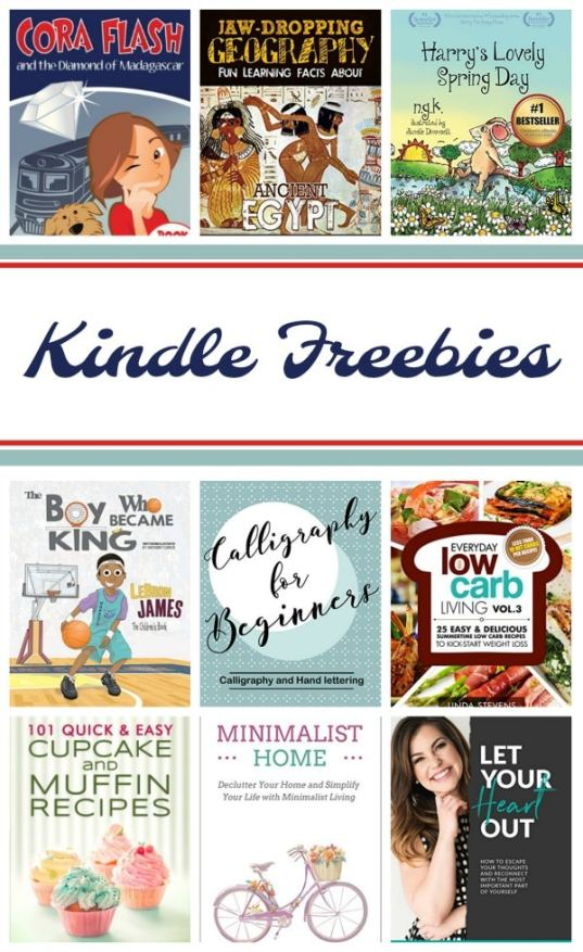 Kindle Freebies: Jaw Dropping Geography, Calligraphy for Beginners, & More!
