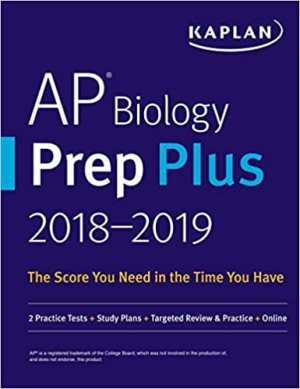 Kaplan AP Biology Prep Plus