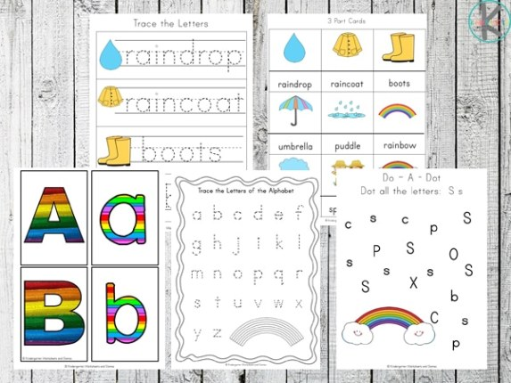 Free Rainbow Learning Pack