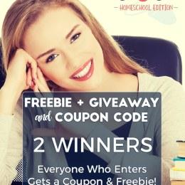 Homeschool Build Your Bundle 2018 Coupon & Giveaway – 2 Winners! ($5,000+ Value)