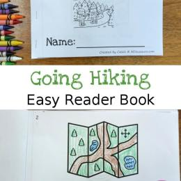 Free Going Hiking Easy Reader Book