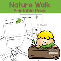 Free Nature Walk Printable Pack