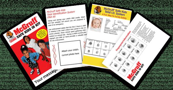 Free McGruff Child Safe Kit