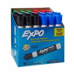 Expo Dry Erase 36 Marker Pack Only $17!
