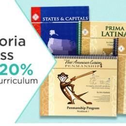 20% Off Memoria Press Curriculum + Free Shipping