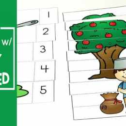 Free Johnny Appleseed Preschool Learning Pack