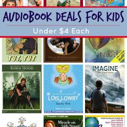 20+ Audiobook Deals for Kids: Sugar Creek Gang, Magic School Bus & More!