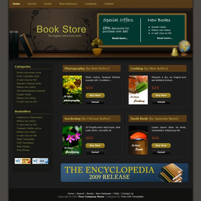 e commerce free html website templates. Black Bedroom Furniture Sets. Home Design Ideas