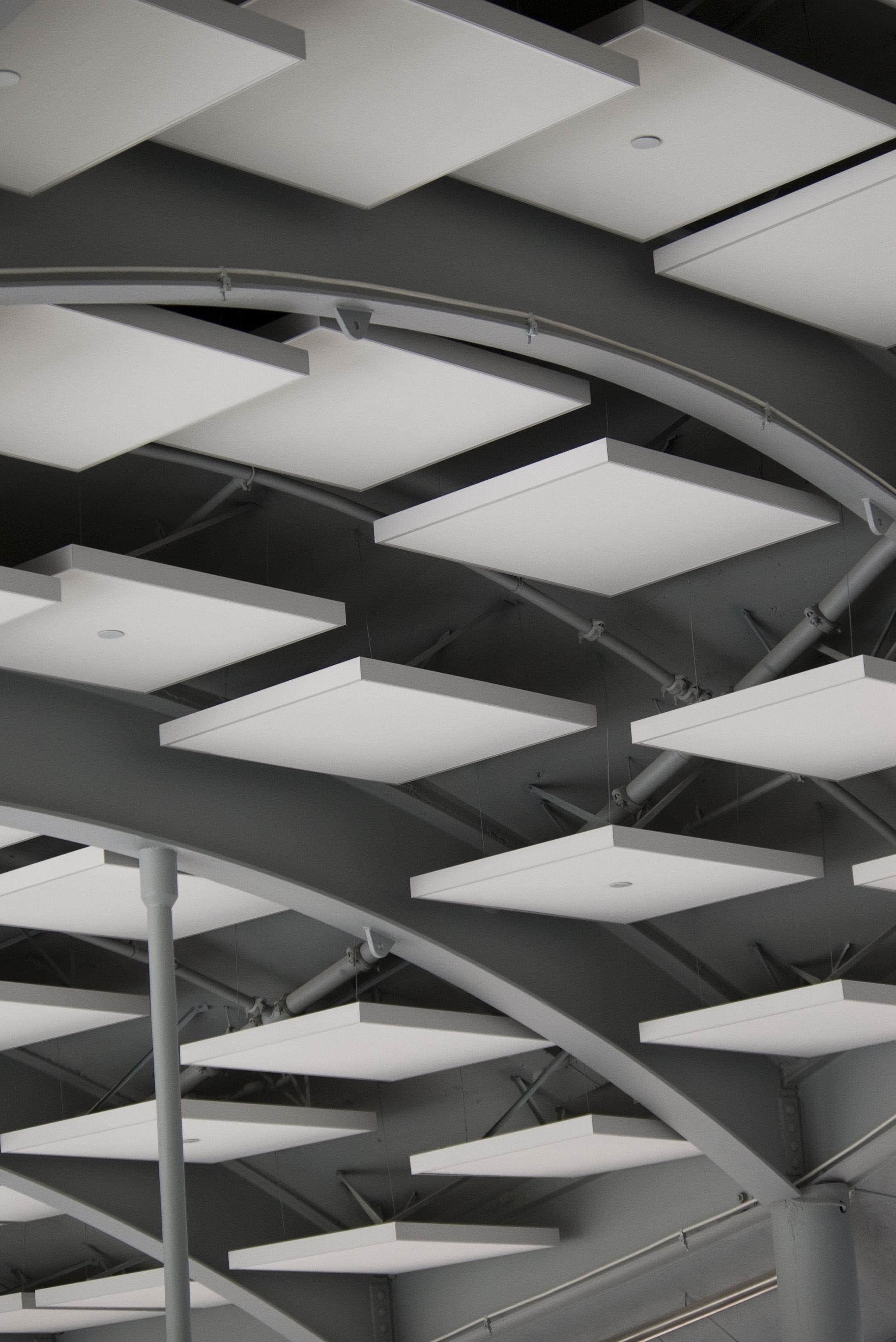 Free Stock Photo Architectural Ceiling Tiles