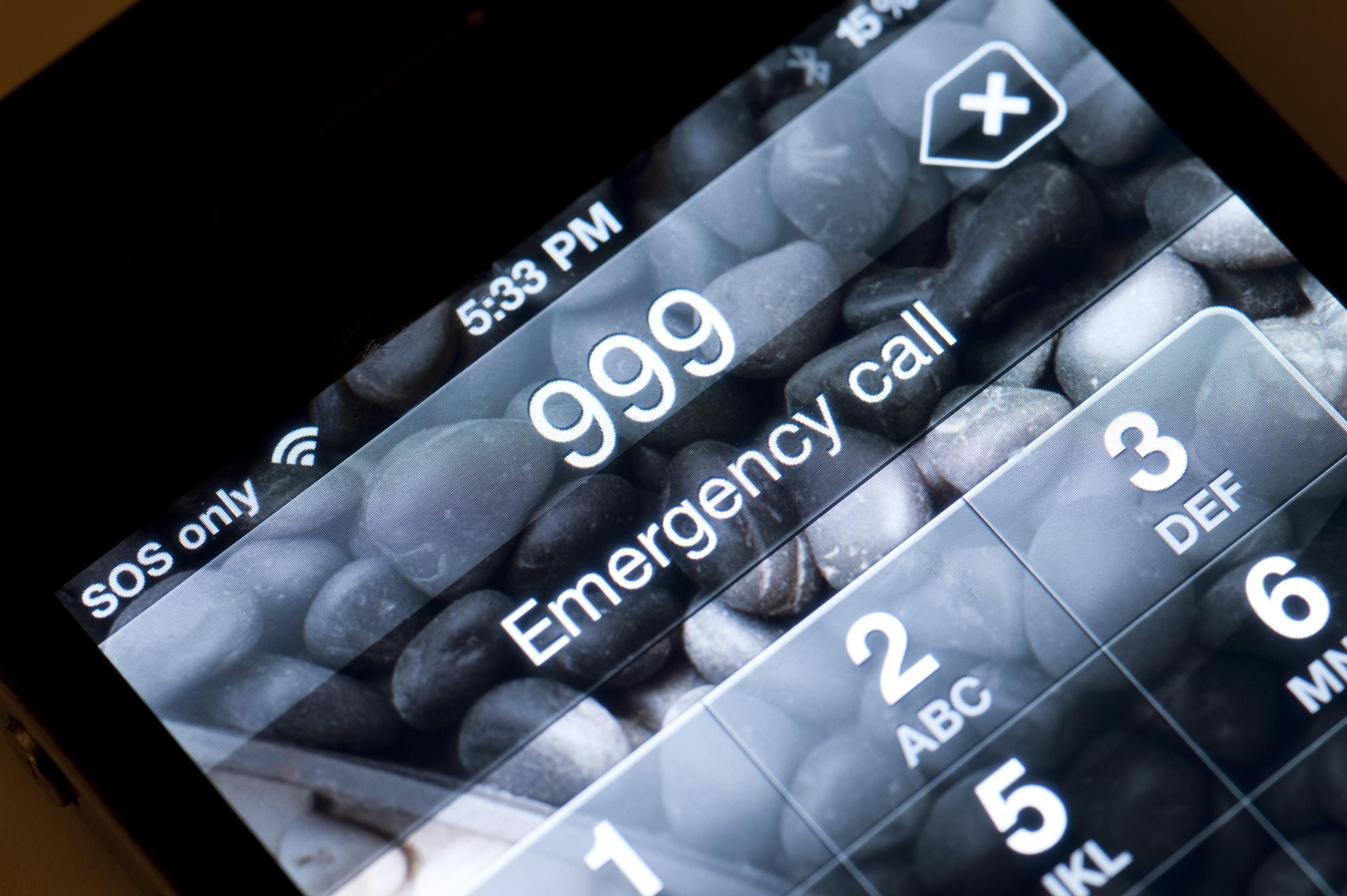 Free Stock Photo Emergency Phone Call