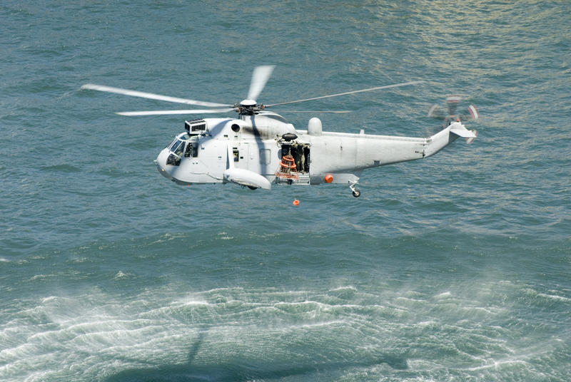 Free Stock Photo 5347 Sea Rescue Helicopter Freeimageslive