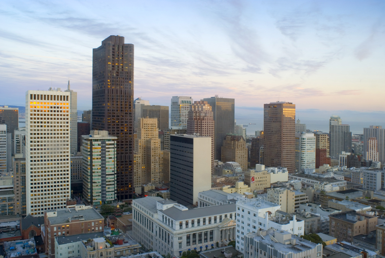Free Stock Photo 5601 Downtown Panorama San Francisco