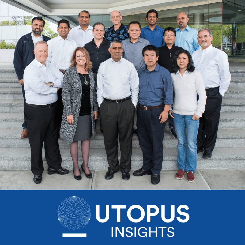 Chandu Visweswariah and the Utopus Insights staff