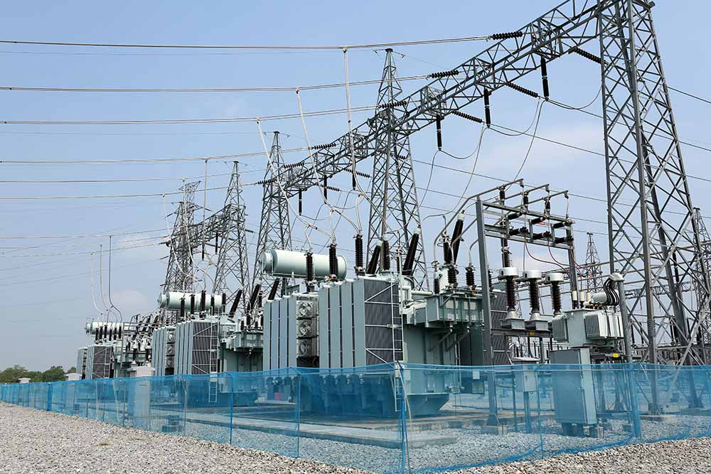 An electric substation