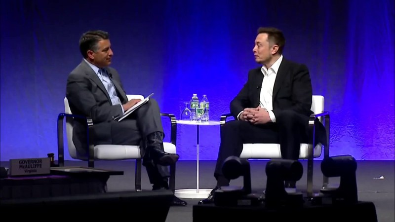 Elon Musk speaking at the National Governors Association in 2017