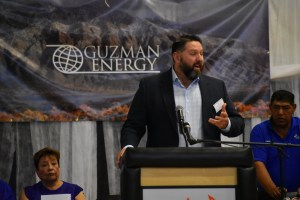 Chris Riley, President of Guzman Energy