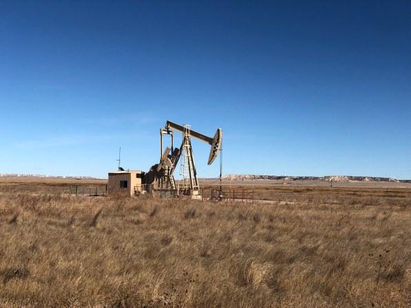 oil - derrick